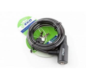 Замок Neko 505-10 спираль ключ 10х1800мм