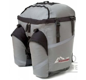 Велорюкзак на багажник Travel Extreme Mono 60L gray