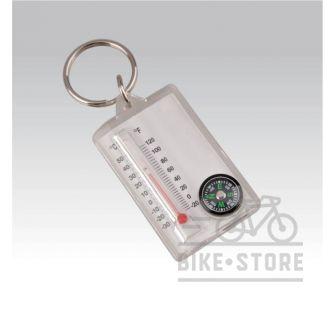 Брелок Munkees компас Thermometer Compass 3145