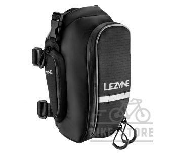 Велосумка Lezyne XL-CADDY, подседельная черный/черный