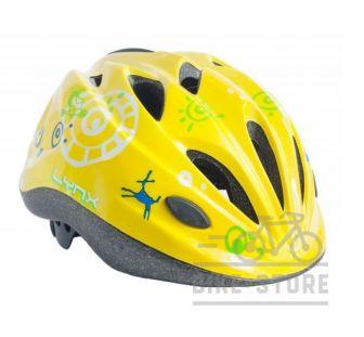 Велошлем Lynx Kids Matt Yellow