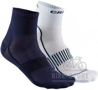 Носки Craft Cool Training 2-Pack Sock 2381 Deep/Black/White