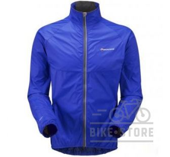 Велокуртка Montane Featherlite Velo Jacket electric blue