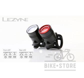 Свет комплект Lezyne LED FEMTO DRIVE REAR, черный