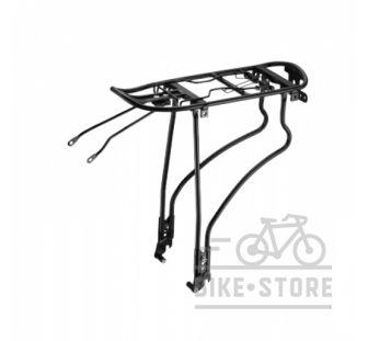 Велобагажник Neko алюминиевый под диск с регулировкой ширины стоек 26