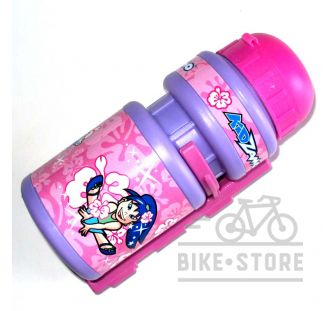 Фляга Kidzamo  FLOWER, розовая