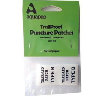 Ремнабор Aquapac 5 клеевых латок для PVC, vinyl