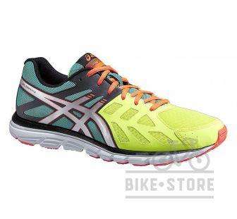 Кросівки Asics GEL-ZARACA 3 Жовтий / Сріблястий / Яскраво-помаранчевий
