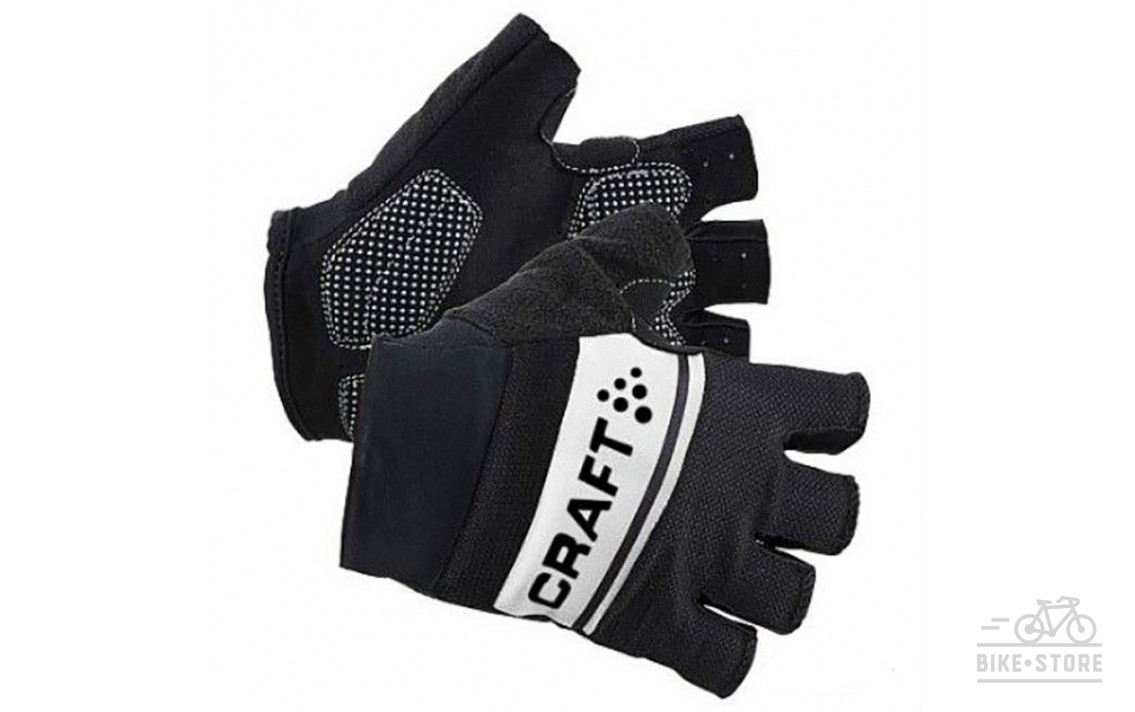 Велоперчатки Craft 1903304 Classic Glove Men Black/White