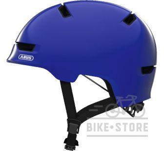 Велошлем Abus SCRAPER 3.0 KID Shiny Blue