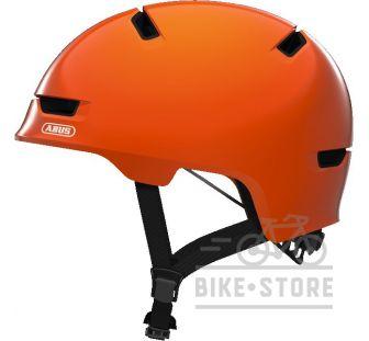 Велошлем Abus SCRAPER 3.0 KID Shiny Orange