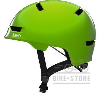 Велошлем Abus SCRAPER 3.0 KID Shiny Green