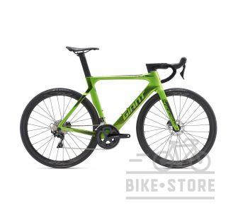 Велосипед Giant Propel Advanced 2 Disc метал зелений