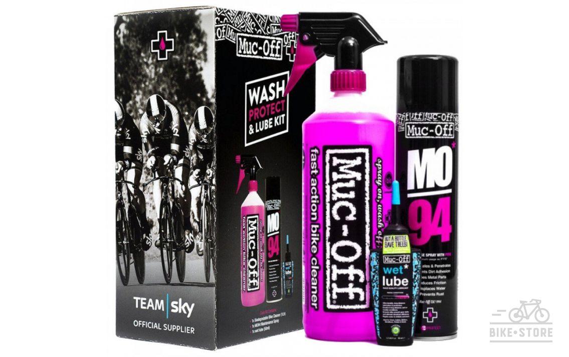 Набір для догляду за велосипедом Muc-Off WASH / PROTECT / LUBE