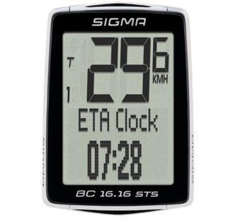 Велокомп'ютер Sigma BC 16.16 STS/CAD