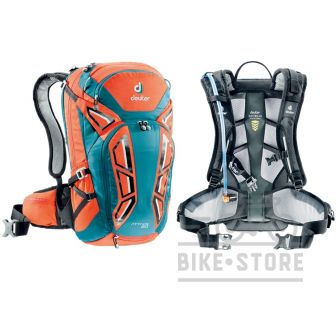 Рюкзак Deuter Attack 20 колір 9306 papaya-petrol