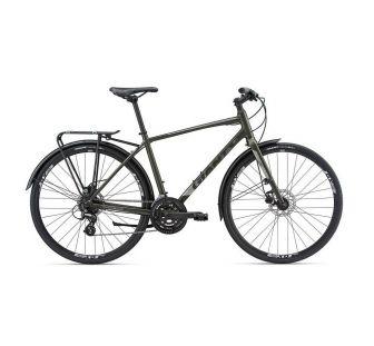 Велосипед Giant Escape 2 City Disc темно зелений