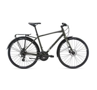 Велосипед Giant Escape 2 City Disc темно зеленый