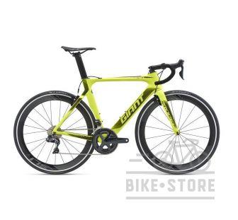 Велосипед Giant Propel Advanced 0 неон жовтий